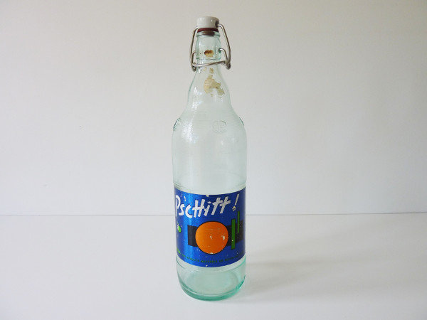 Bouteille de Pschitt orange 1960/1970